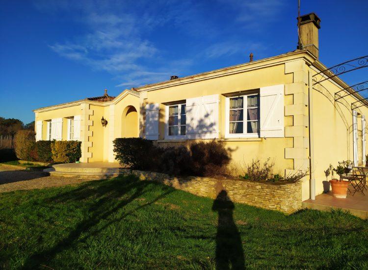 Maison de plain-pied de 120 m²